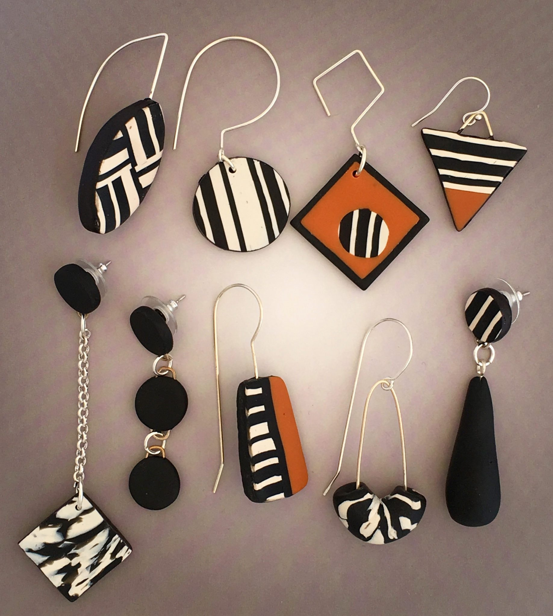 How To Make Clay Earrings At Home